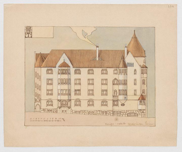 Original drawings, Olofsborg
