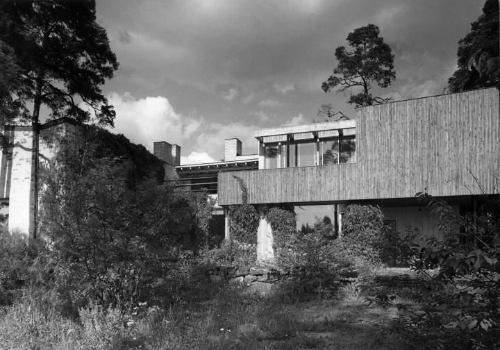 Courtyard façade in 1940s, The Aalto House