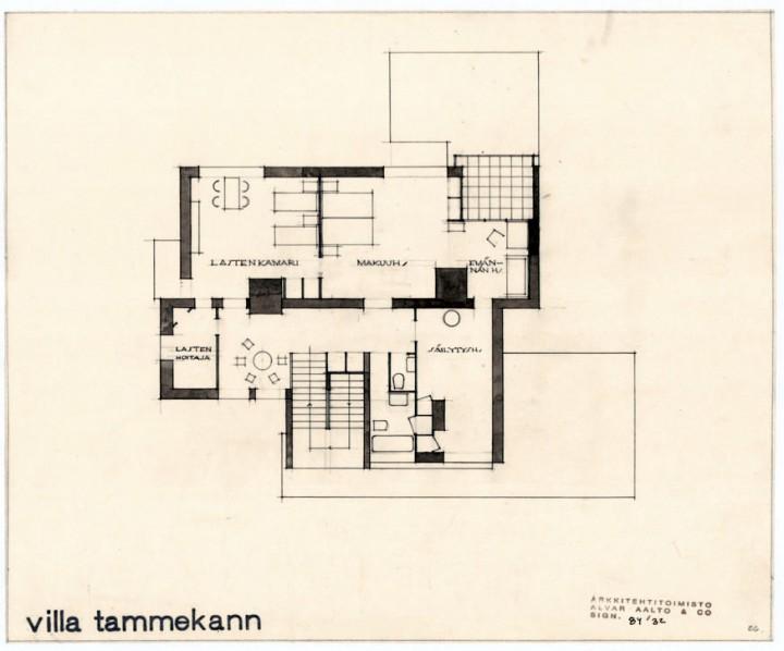 1st floor, Villa Tammekann