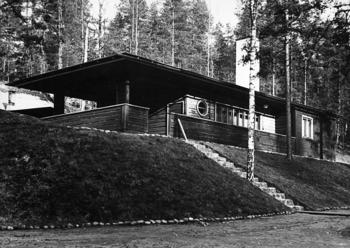 Original sauna building, Vierumäki Sports Institute