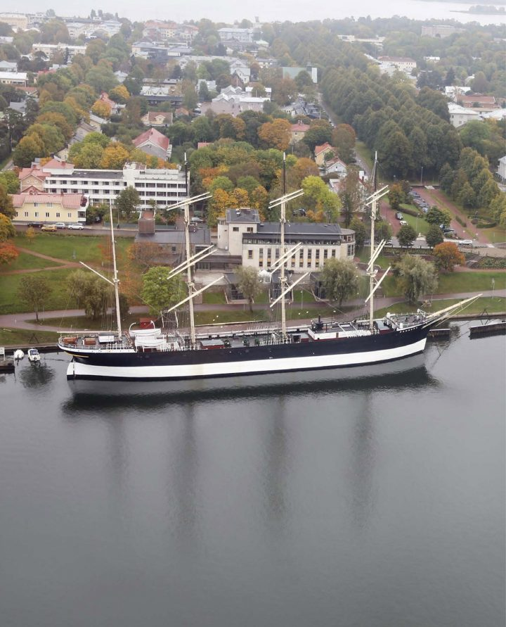 Aerial view from the west, Åland Maritime Museum
