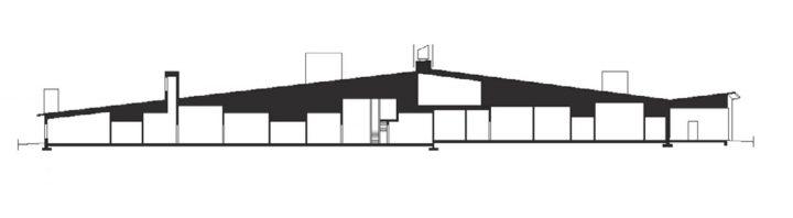 Section plan, Ajurinmäki Daycare Centre