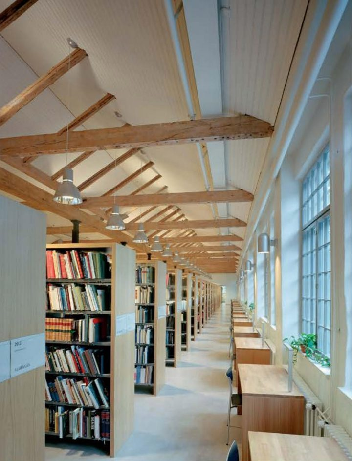 Faculty Library, Åbo Akademi University Arken Campus