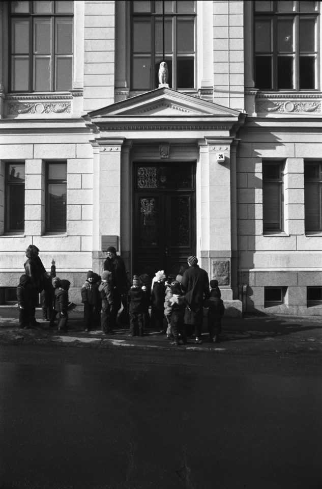 Main entrance, Museum of Finnish Architecture