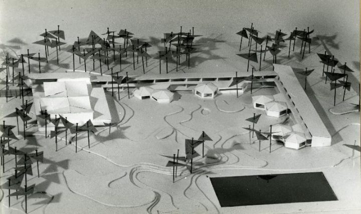 Scale model, Tapiola Co-educational School