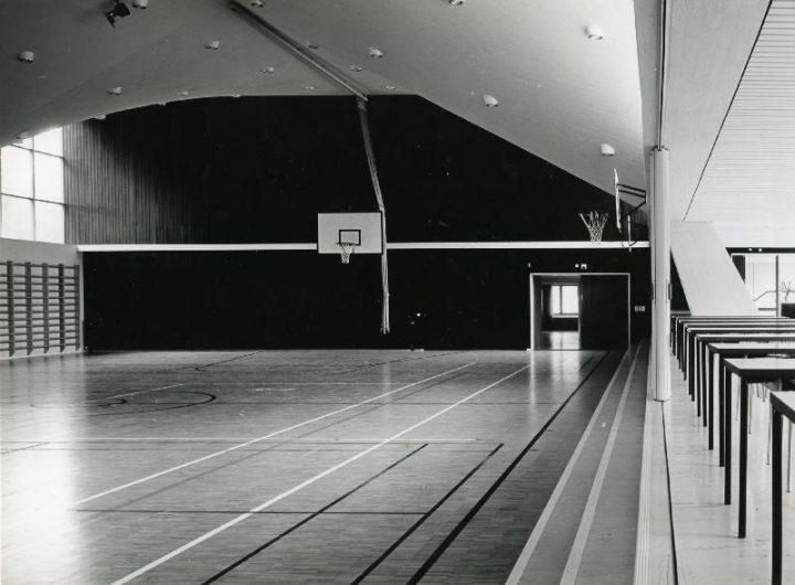 Gymnastics hall, Tapiola Co-educational School