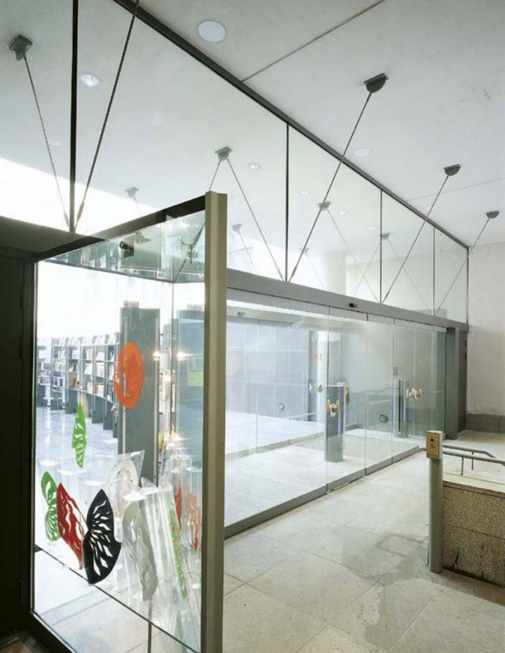Entrance from Ateneuminkuja, Ateneum Art Museum Extension