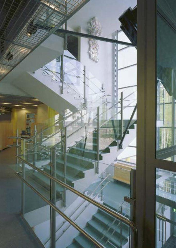Main staircase, Aurinkolahti School