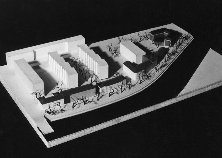 Scale model, Carenia & Linnankatu 8 Housing