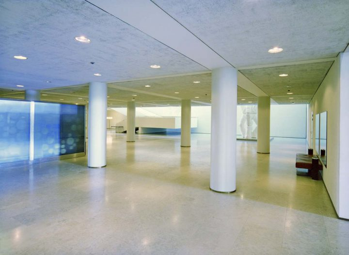Entrance floor after remodelling by Aarno Ruusuvuori, Helsinki City Hall