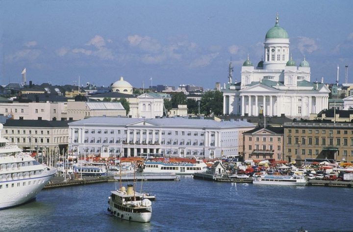 View from the Market Square, Helsinki City Hall