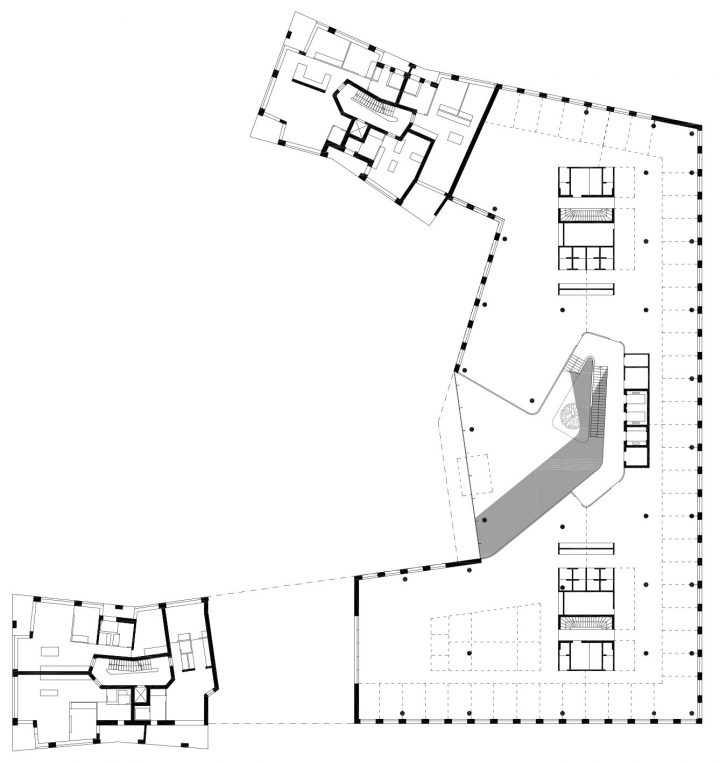 2nd floor, EY Office and Residential Building