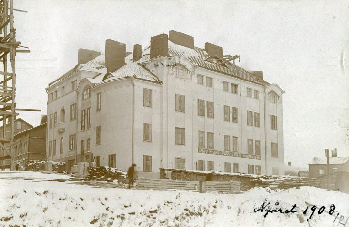 Ebeneser Kindergarten in 1908, Ebeneser Kindergarten
