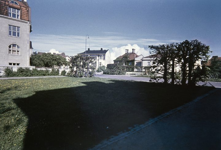 Engel Squre in the early 1960s, Eira Villa District