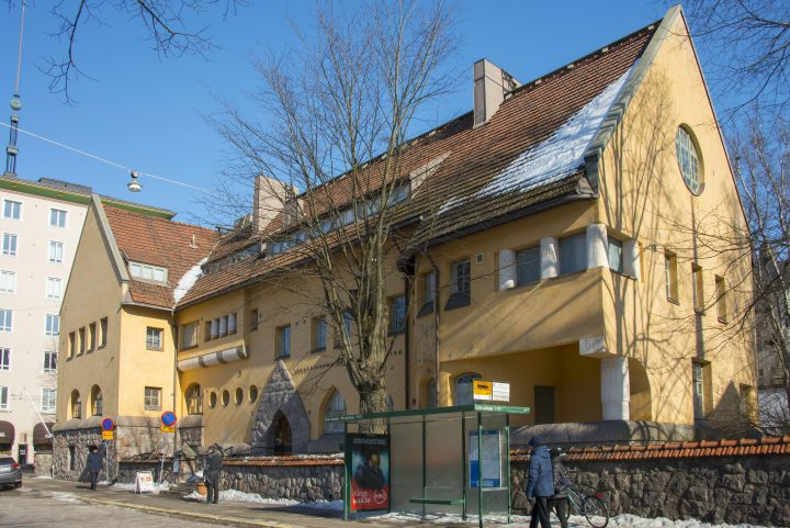 Laivurinkatu street façade, Eira Hospital