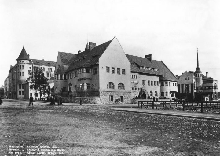 Eira Hospital photographed in 1906, Eira Hospital