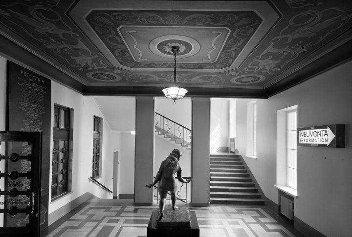 Entrance hall of the executive floor, Elanto Headquarters