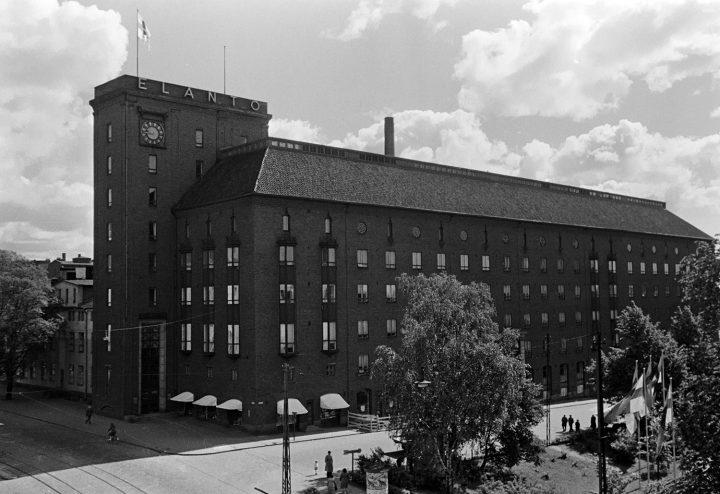 View from the opposite side of Hämeentie, Elanto Headquarters