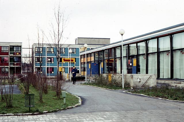 Student Village in 1972, University of Turku Student Village