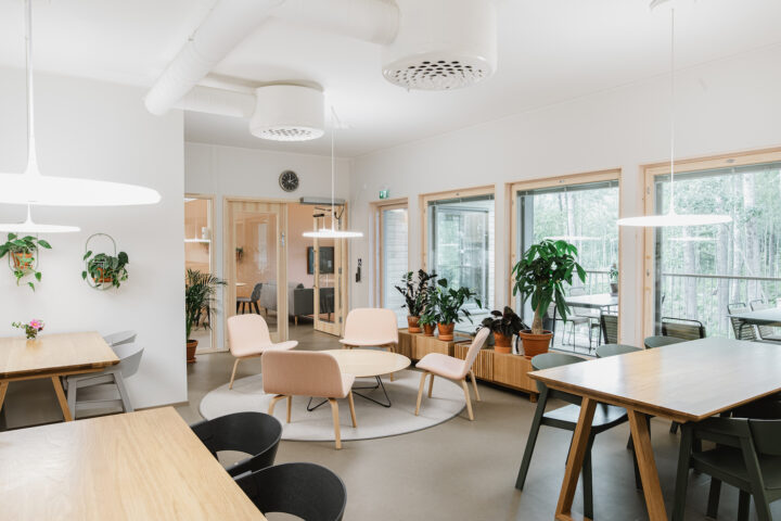 Common space, Aurinkolinna House