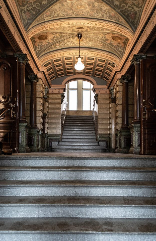The hallway, Erottajankatu 2 Neo-Renaissance Building