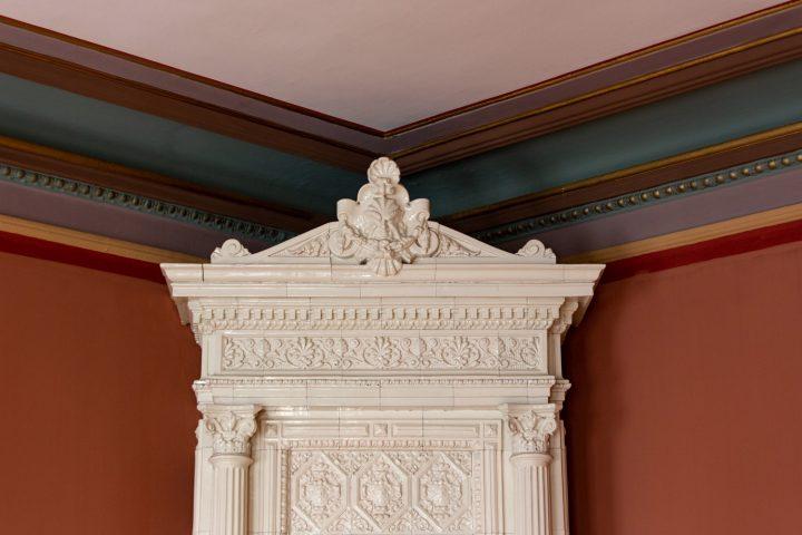 A detail of the interior, Erottajankatu 2 Neo-Renaissance Building