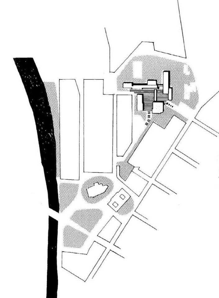 Site plan, University of Turku Main Campus