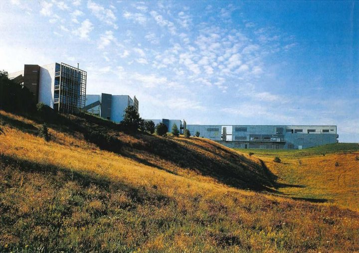 View across the valley, European Film College