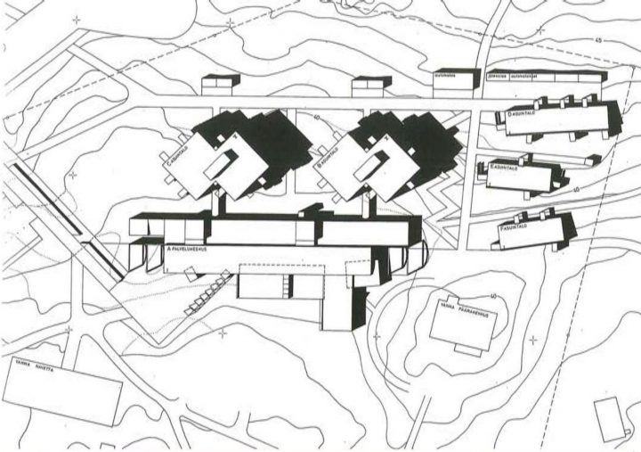 Site plan, Foibe Service Centre