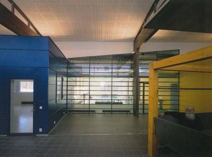 Indoor street, Foibe Service Centre