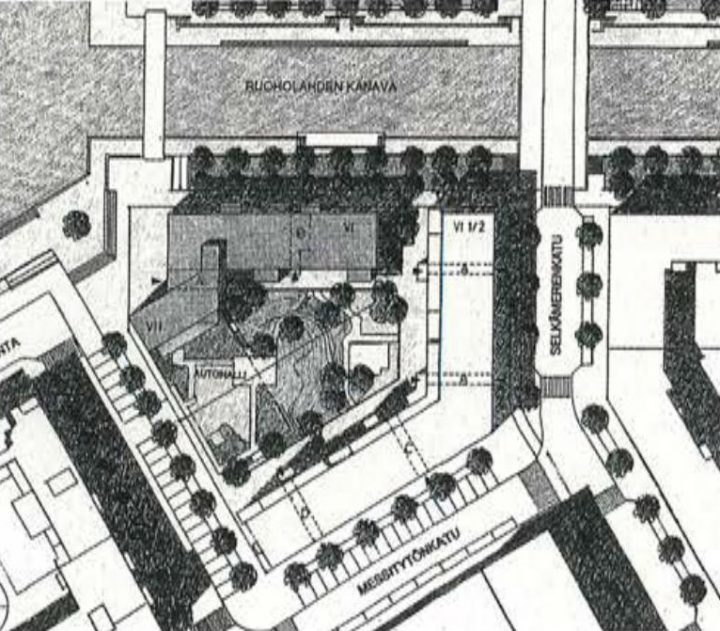 Site plan , Fokka and Spinnu Housing