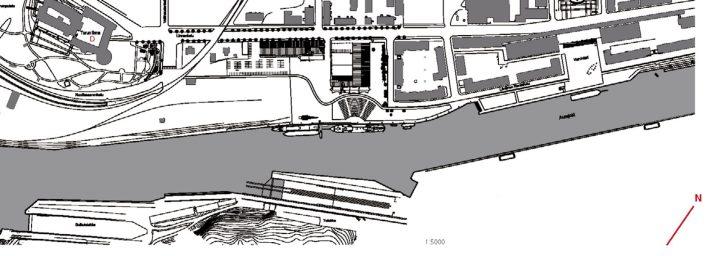 Site plan, Forum Marinum