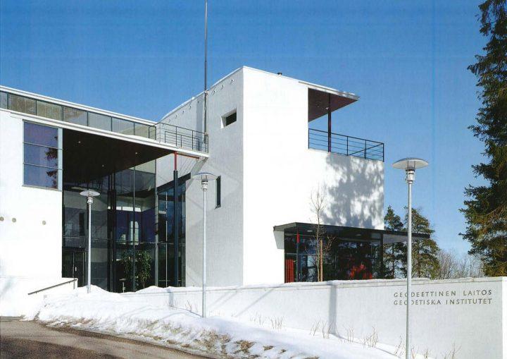 South elevation, Finnish Geospatial Research Institute