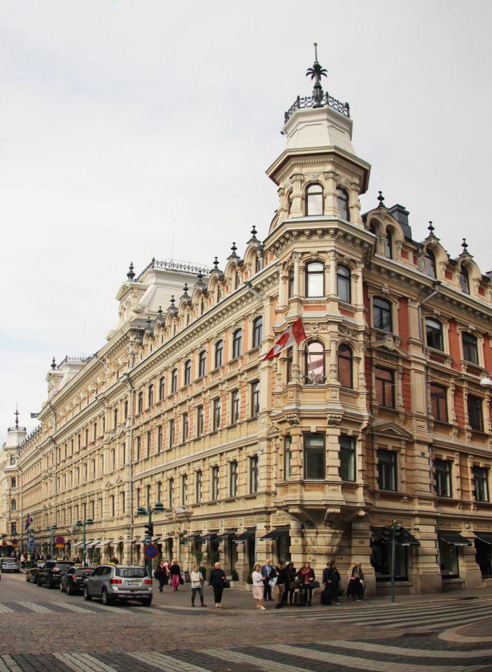 Street façade, Grönqvist Building
