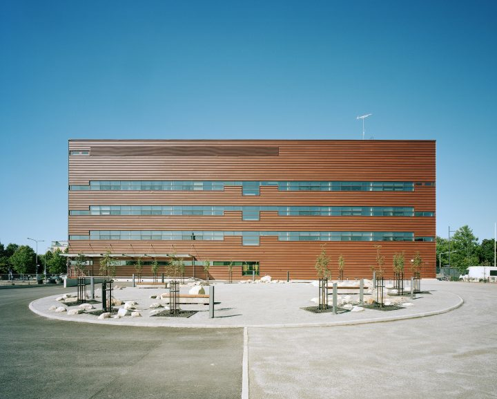 Southern façade, The Provincial Archives of Hämeenlinna