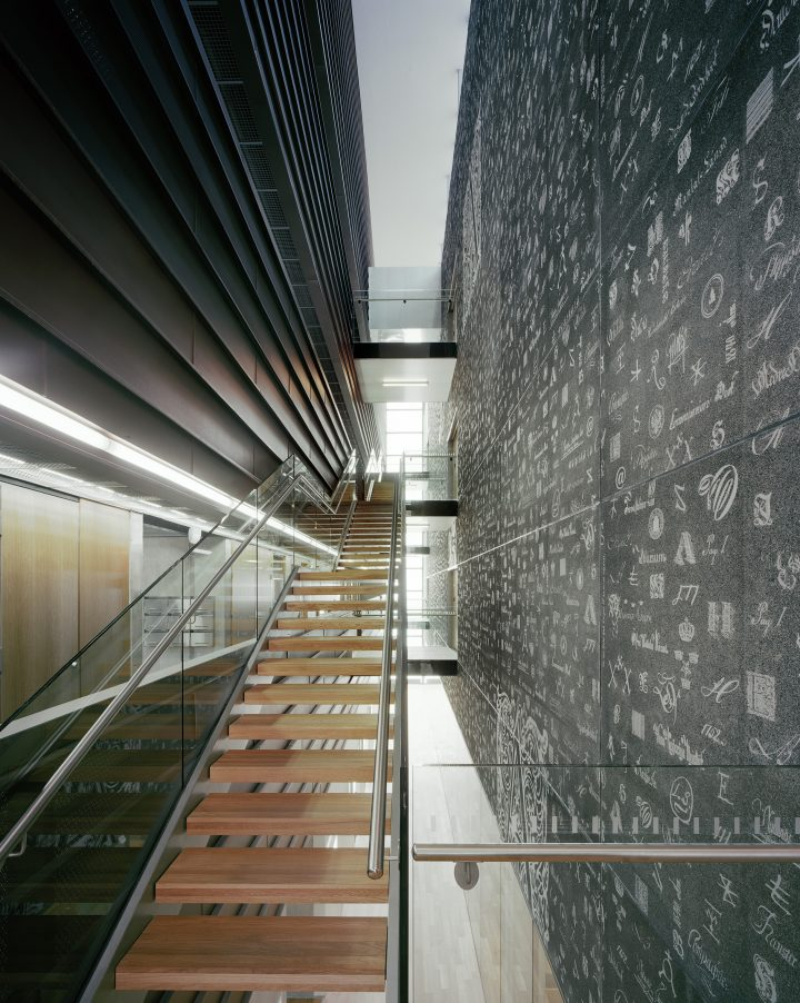 Main staircase, The Provincial Archives of Hämeenlinna