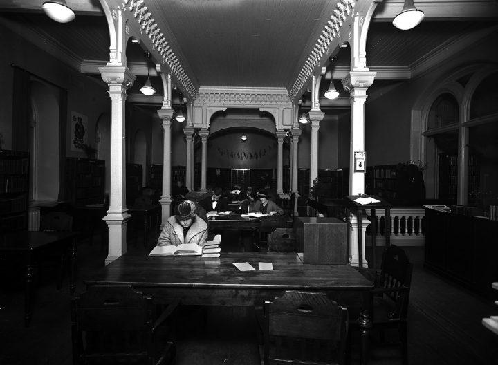 Reading room 1924, Rikhardinkatu Library