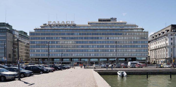 Seaside façade, Hotel Palace
