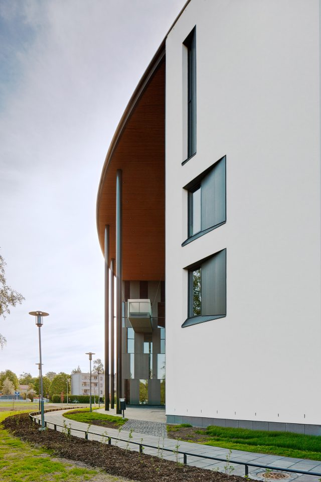 Detail of the façade, Hämeenlinna Police House