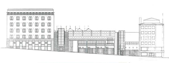 Street elevation plan, Kanta-Häme Regional Savings Bank