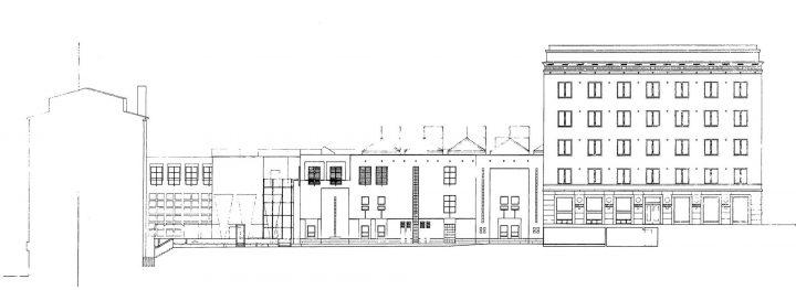 Yard elevation plan, Kanta-Häme Regional Savings Bank