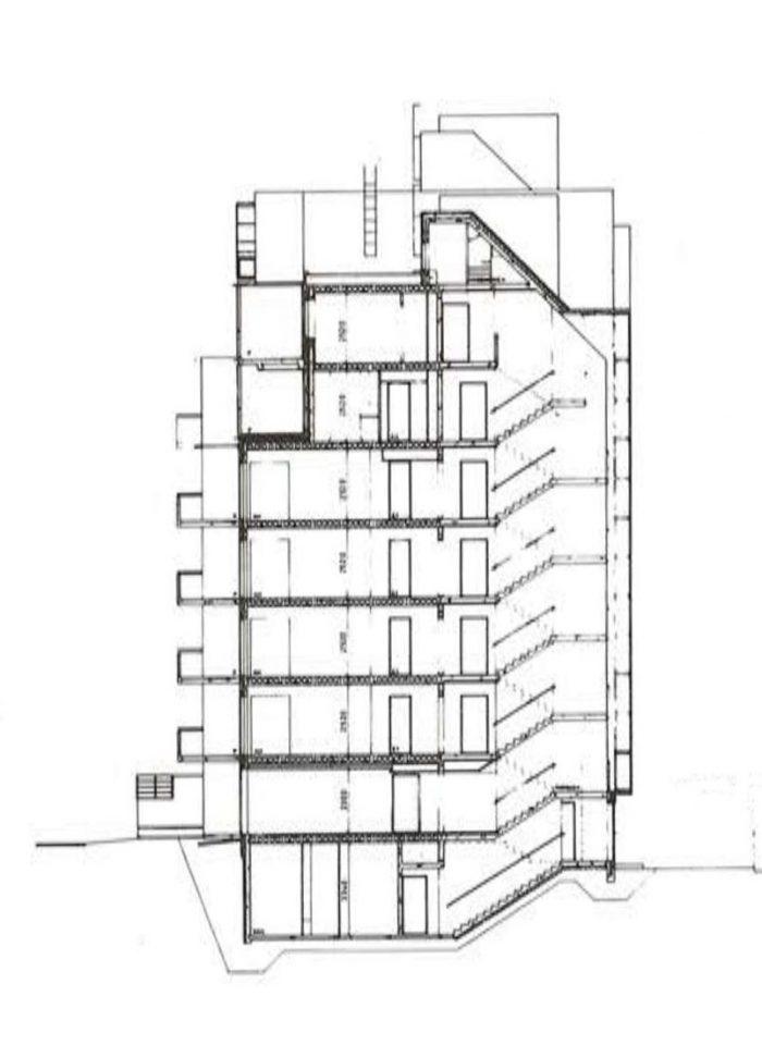 Section plan, Haapapuistikko, Hämeenpuistikko and Vetehisenkuja 2 Housing