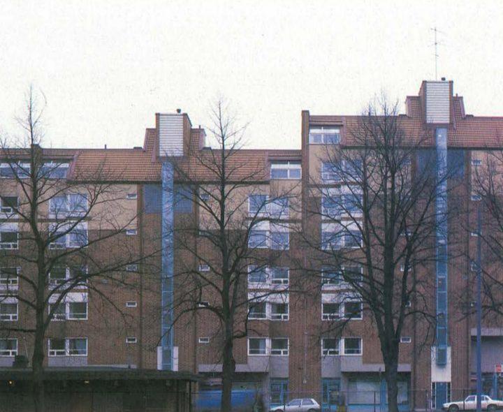 Hämeentie street view, Haapapuistikko, Hämeenpuistikko and Vetehisenkuja 2 Housing