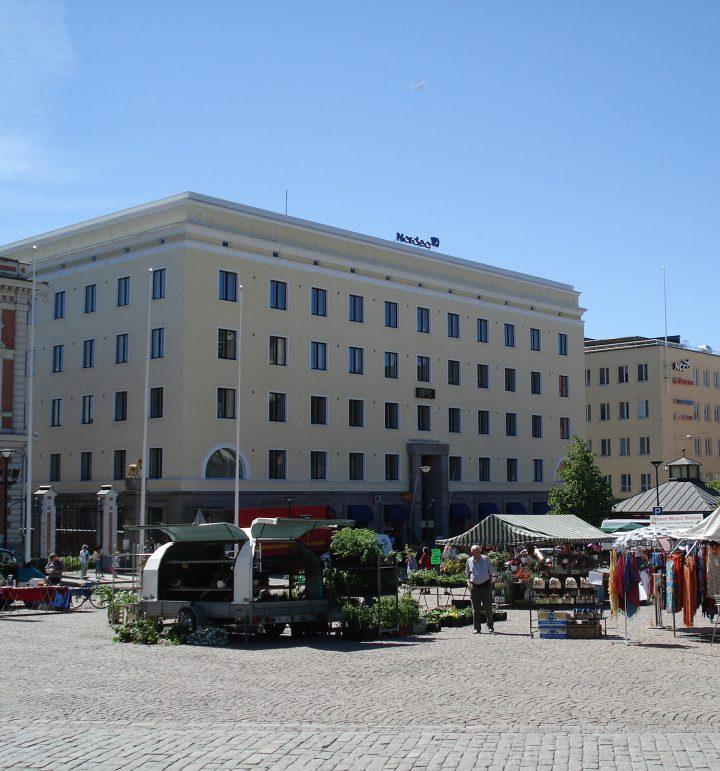 Oiva Kallio's building from 1929, Kanta-Häme Regional Savings Bank