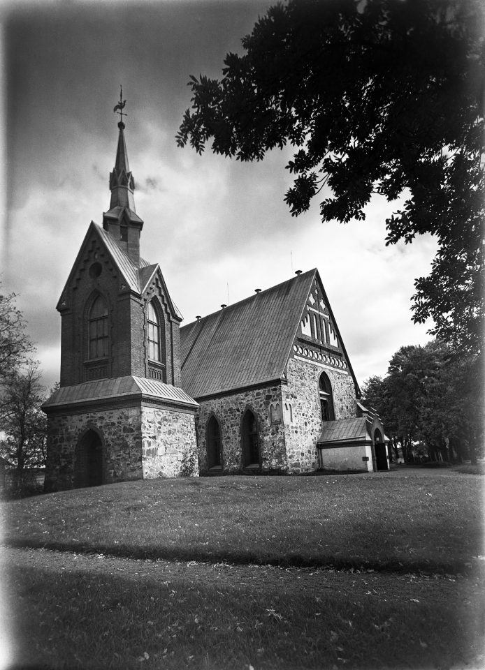 St. Lawrence Church in the 1950s, St. Lawrence Church