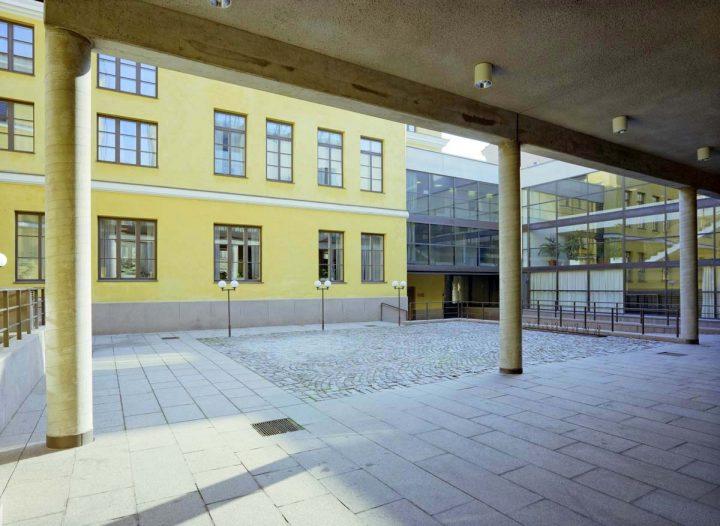Inner courtyard, Helsinki City Hall