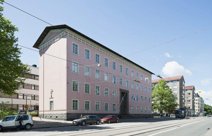 Helsinginkatu street view, Helsinki Worker's Institute
