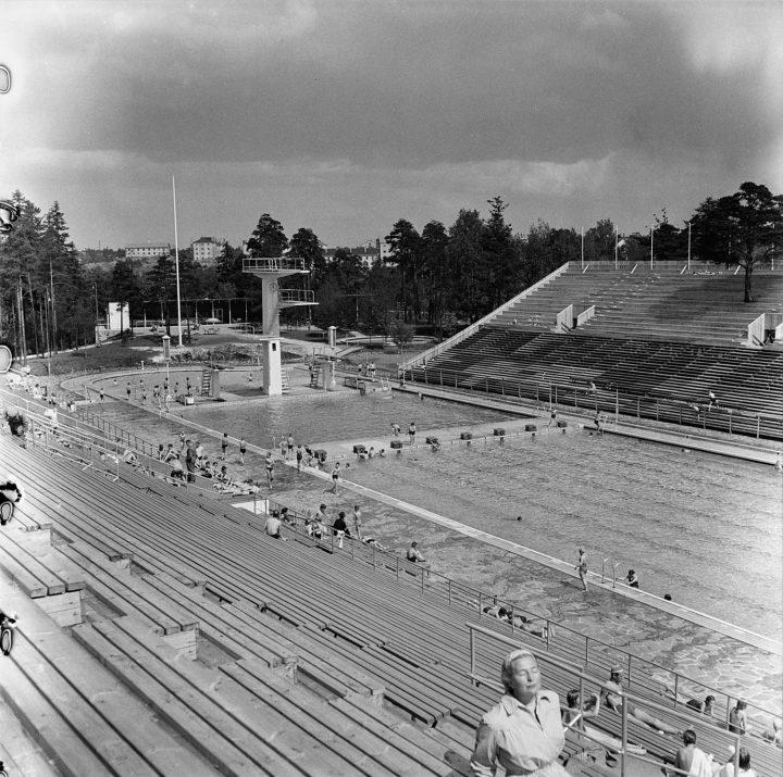 Helsinki Olympics 1952, Helsinki Swimming Stadium