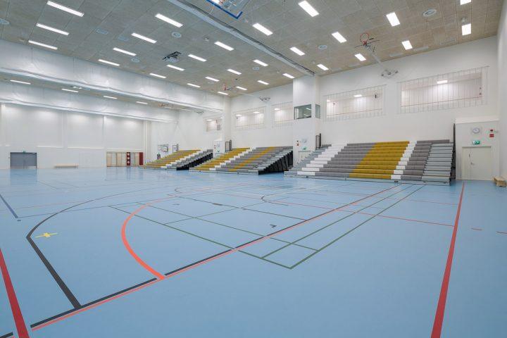 The sports hall, Huhtasuo School Campus