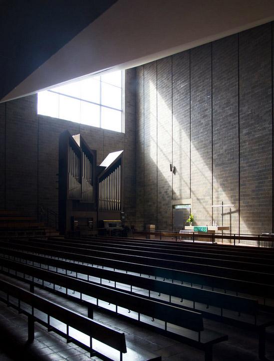Interior, Huutoniemi Church